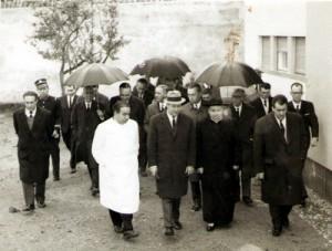A inauguração oficial do edifício-sede da Casa do Povo, em 15 de Fevereiro de 1964.