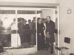 Posto médico no edifício-sede da Casa do Povo de Alvalade (1964)