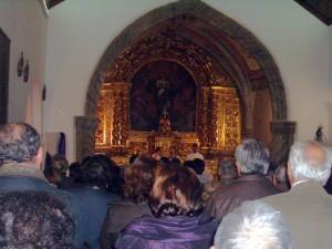 Igreja Matriz de Alvalade (vista do interior)